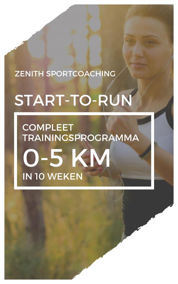 Start-to-run: 0-5 km in 10 weken